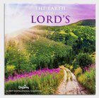 2019 Wall Calendar: The Earth is the Lord's