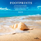 2019 Wall Calendar: Footprints