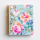 2019 18-Month Diary/Planner: Floral Agenda