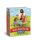 God's Story For Me Bible: 104 Life-Shaping Bible Stories For Children Hardback