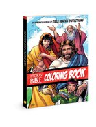 The Action Bible Coloring Book:55 Reproducible Pages of Bible Heroes and Devotions