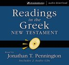 Readings in the Greek New Testament eAudio
