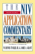 Psalms, Volume 2 (Niv Application Commentary Series) eBook