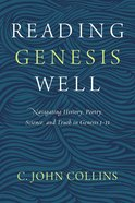 Reading Genesis Well eBook