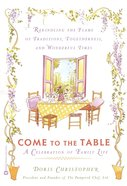Come to the Table eBook