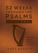 52 Weeks Through the Psalms Devotional eBook