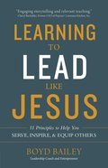 Learning to Lead Like Jesus eBook