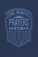 One-Minute Prayers For Boys eBook