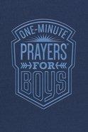 One-Minute Prayers For Boys eBook