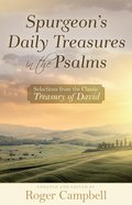 Spurgeon's Daily Treasures in the Psalms eBook