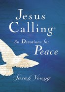 Jesus Calling 50 Devotions For Peace eBook