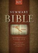 Summary Bible, KJV Edition eBook