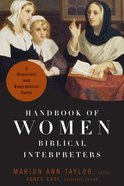 Handbook of Women Biblical Interpreters eBook
