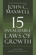 The 15 Invaluable Laws of Growth eBook