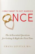 I Only Want to Get Married Once eBook