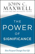 The Power of Significance eBook