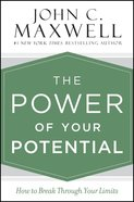 The Power of Your Potential eBook