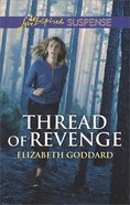 Thread of Revenge (Coldwater Bay Intrigue) (Love Inspired Suspense Series) eBook
