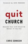 Quit Church eBook