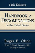 Handbook of Denominations in the United States, 14Th Edition Hardback