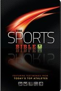 HCSB Sports Bible, the Brown Featuring Testimonies From Today's Top Athletes