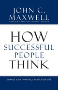 How Successful People Think eBook