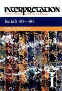 Isaiah 40-66 (Interpretation Bible Commentaries Series) eBook