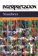 Numbers (Interpretation Bible Commentaries Series) eBook
