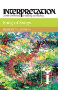 Song of Songs (Interpretation Bible Commentaries Series) eBook