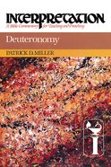 Deuteronomy (Interpretation Bible Commentaries Series)