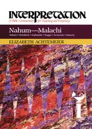Nahum--Malachi (Interpretation Bible Commentaries Series) eBook
