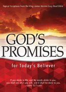 God's Promises For Today's Believer eBook