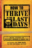 How to Thrive in the Last Days eBook