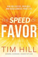 The Speed of Favor eBook