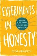 Experiments in Honesty eBook