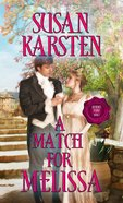 A Match For Melissa eBook