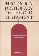Theological Dictionary of the Old Testament (#01 in Theological Dictionary Of The Old Testament Series) Paperback