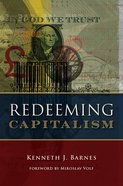 Redeeming Capitalism Hardback