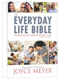 The Amplified Joyce Meyer New Everyday Life Bible