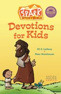 Spark Story Bible Devotions For Kids Hardback