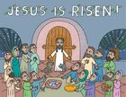 Jesus is Risen!: An Easter Pop-Up Book Hardback