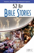 52 Key Bible Stories (5 Pack) (Rose Guide Series)