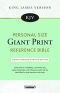 KJV Personal Size Giant Print Reference Bible (Red Letter Edition)