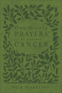 One-Minute Prayers For Those With Cancer Imitation Leather