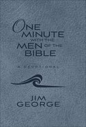 One Minute With the Men of the Bible Imitation Leather