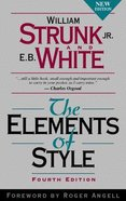 Elements of Style (4th Edition) Paperback