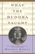 What the Buddha Taught Paperback