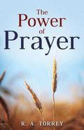 The Power of Prayer Paperback