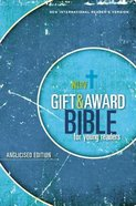 NIRV Gift and Award Bible For Young Readers Anglicised Edition Blue Paperback