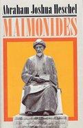 Maimonides: A Biography Paperback